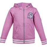 Sweat Jacket in blau oder pink