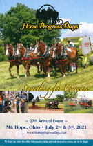 Broschüre Horse Progress Days 2021