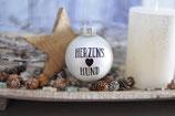 Weihnachtskugel, Weiß