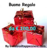 BUONO REGALO DA € 100,00