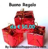 BUONO REGALO DA € 50,00