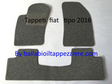 Tappeti Fiat Tipo 4 porte 2016  Posteriore intero