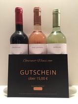 Gift Voucher worth 15.-€