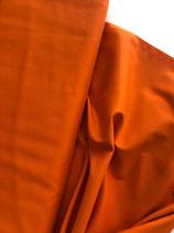 Baumwollstoff orange