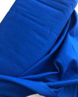 Baumwollstoff royalblau