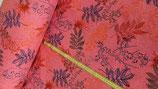 Sweatshirtstoff Blätter