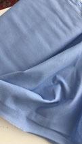 Baumwollstoff hellblau