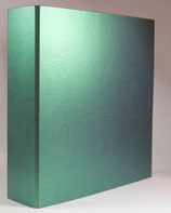 Ordner A4 2-Ring Metallic grün