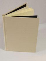Buch A4 Leinen Vanille