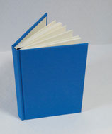 Buch A6 Leinen Peacock