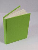 Buch A6 Leinen Gecko