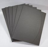 Aufbewahrungsmappe Grau  829.005 (6 Stück)
