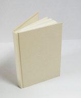 Buch A6 Leinen Vanille