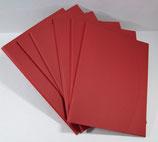 Aufbewahrungsmappe Rot  829.015 (6 Stück)