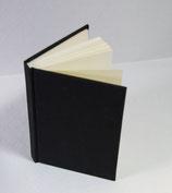 Buch A6 Leinen Schwarz