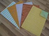 Geschenkpapier-Set Allgemein ( 5 Bögen)