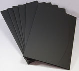 Aufbewahrungsmappe Schwarz  829.002 (6 Stück)