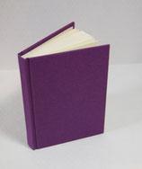 Buch A6 Leinen Purple