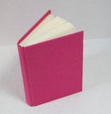 Buch A6 Leinen Flamingo