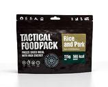 Reisgericht mit Schweinefleisch