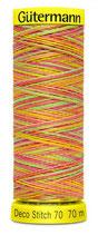 Gütermann Deco Stitch 70 Multicolor 70m Garn 9873