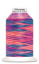 Gütermann Bulky-Lock 80 1000m Multicolor Pink Jeans 9814