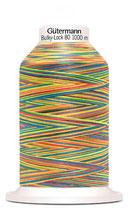 Gütermann Bulky-Lock 80 1000m Multicolor Rainbow 9822