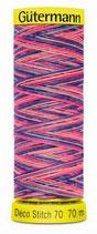 Gütermann Deco Stitch 70 Multicolor 70m Garn 9819