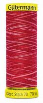 Gütermann Deco Stitch 70 Multicolor 70m Garn 9984