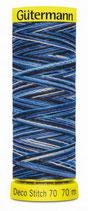 Gütermann Deco Stitch 70 Multicolor 70m Garn 9962