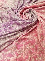 Lace Pink Dream Viskose Sommersweat Meterware