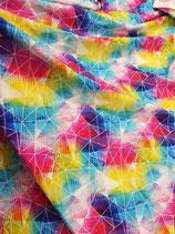 Polygone Rainbow Sommersweat Meterware