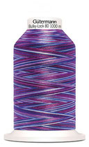 Gütermann Bulky-Lock 80 1000m Multicolor Purple 9944