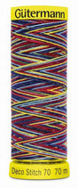 Gütermann Deco Stitch 70 Multicolor 70m Garn 9831