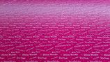 "pinker Farbverlauf ""kleines Wunder"" Viscose-Sommersweat Meterware"