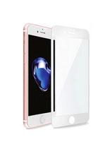 Zusatzoption: Displayschutz Glasfolie Fullcover inkl. Montage für iPhone 7 Plus (weiß)