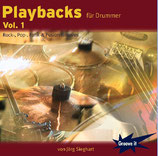 "CD ""Playbacks für Drummer Vol.1"""