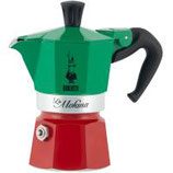 Bialetti Espressokanne Moka Express Italia 3 Tassen