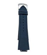 Ersatzband Leder zu TS Uhr Damen Blau