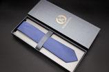 Krawatte hellblau dunkel