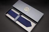 Krawatte dunkelblau dunkel