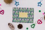 "Rubbel- Postkarte ""Christmastree"""