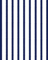 PCC rayé  marine / blanc
