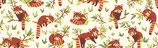 Panda roux ivoire