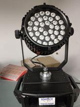360 Grad Dreher, Outdoor, RGB, 36 x 5 Watt LED