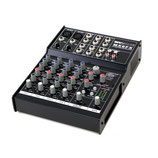 MX 6 FX, 2x Mic, 2x Stereo, 3-Band EQ, 48V Phantom Power, 16 Preset DSP