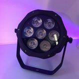 Outdoor LED PAR 7 x 18 Watt