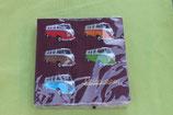 servetten gekleurde VW busjes