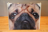 Bulldog shopping bag