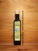 250 ml Leckeres Bio-Leinöl - ein Jahr lang jeden Monat frisch!
